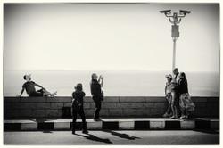 Nasser Lake Tourists