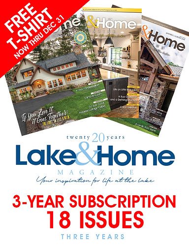 Lake & Home - 3 Year Subscription