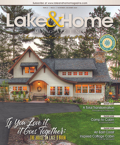 Nov/Dec 2020 Lake & Home