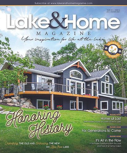 July/Aug 2021 Lake & Home