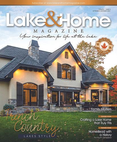 Sept/Oct 2021 Lake & Home
