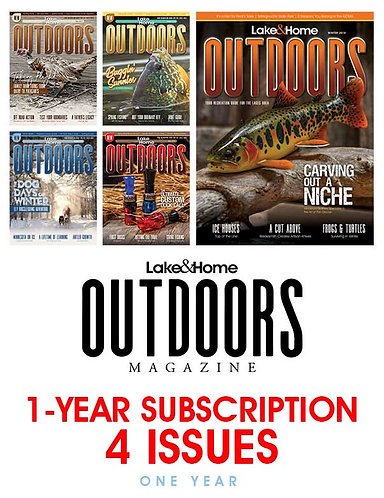 OUTDOORS - 1 Year Subscription