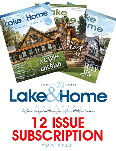 Lake & Home - 2 Year Subscription