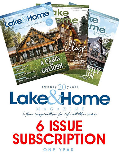 Lake & Home - 1 Year Subscription