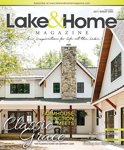 July/Aug 2020 Lake & Home