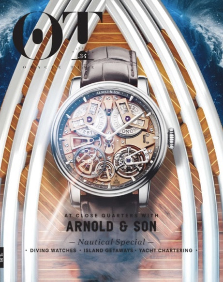'The Spirit of Adventure' - Oracle Time magazine, September 2017