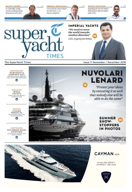 25 years of Bluewater Yachting: Superyacht Times Issue 11