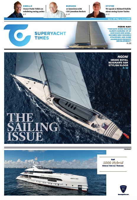 Exploring the sailing superyacht market: SuperyachtTimes issue 20 (the sailing focus)