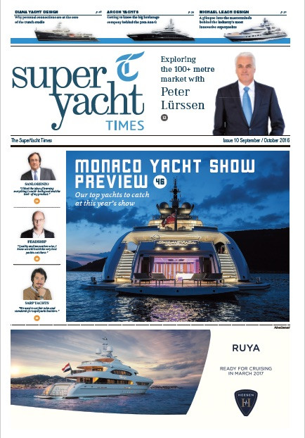 Oscar Mike: Superyacht Times issue 10