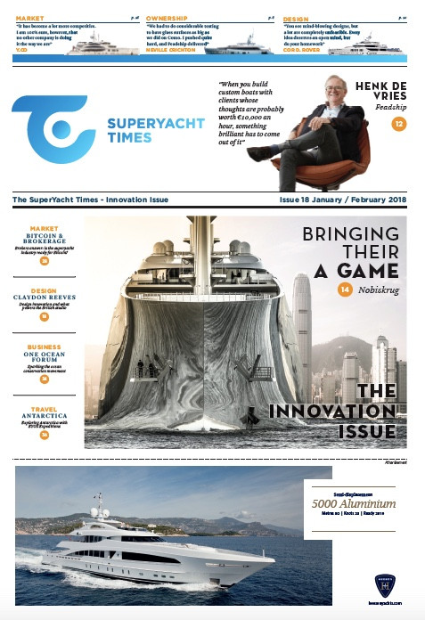 Breaking the mould: Superyacht Times, issue 18 (the innovation issue)