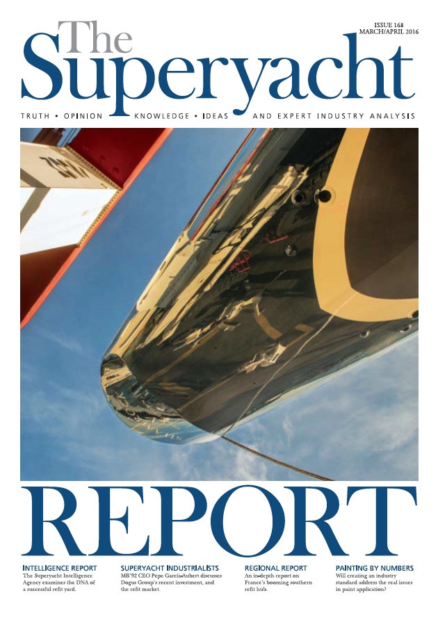 Asia Pacific column: issue 168 The Superyacht Report