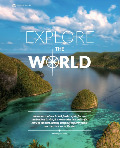 Explore the world: Fraser Magazine 2016