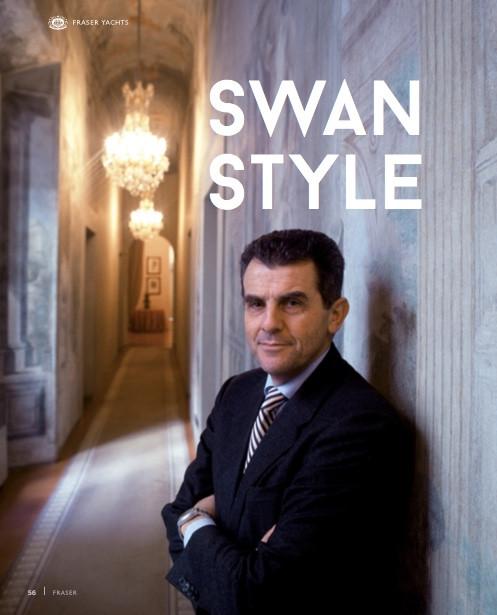 Interview with Feruccio Ferragamo of Nautor's Swan: Fraser Magazine 2016