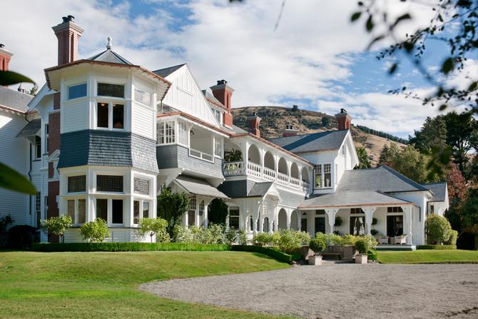 Gracious hosting at Otahuna Lodge