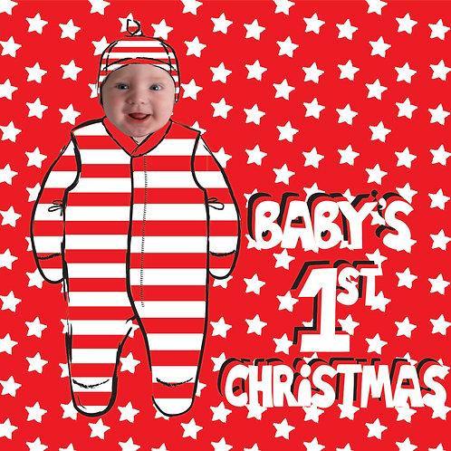 PERFECT PICS - BABY FRAME CHRISTMAS STARS