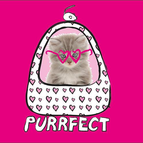 PERFECT PICS - PET CARD BED PINK