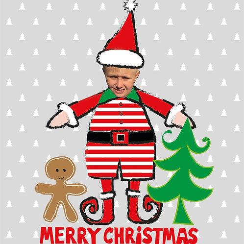 PERFECT PICS - CHRISTMAS CARD ELF