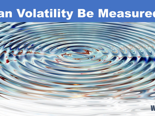 How to tell volatility is picking up?