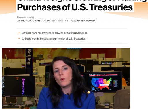 China Weighs Slowing or Halting Purchases of U.S. Treasuries