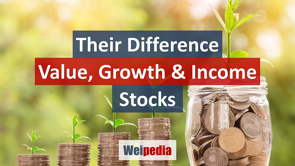 Their Difference - Income Value Growth S