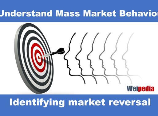 Identifying market reversal - Price behavioural analysis