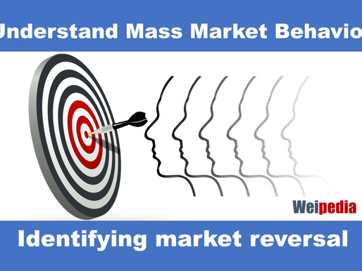 Identifying market reversal - Price behavioural analysis