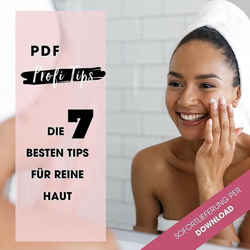 Die 7 besten Tips für reine Haut