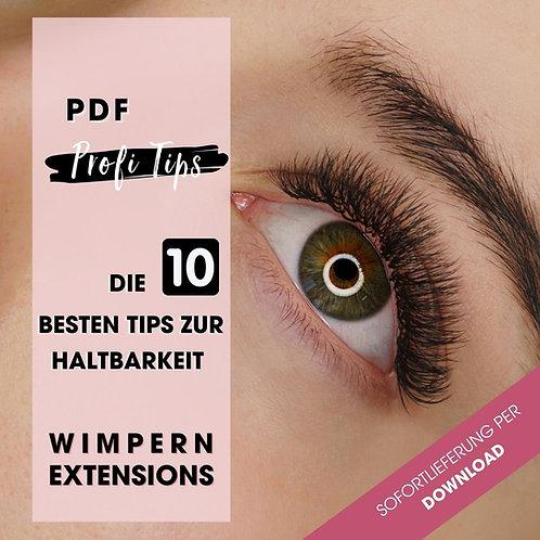 Die 10 besten Wimpern Tips