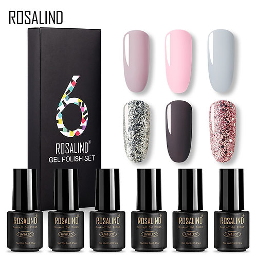 ROSALIND UV-Gel Nagellack Set