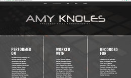 Amy Knoles A professional digital percussionist branding and ...