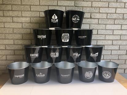 Black Beer Buckets