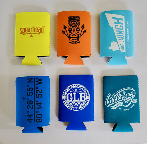 One Colour Tallboy Can Coolers