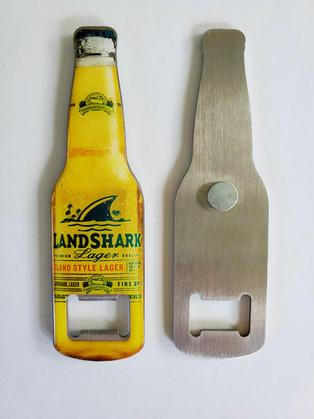 Expoxy Domed Steel Bottle Opener Magnet