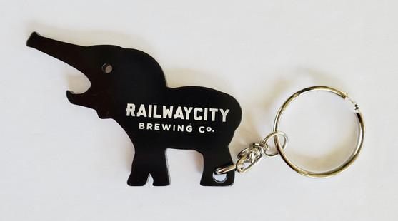Elephant Keychain Bottle & Can Opener