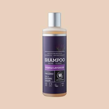 Регенерирующий органический шампунь с лавандой и витамином A для пышности волос