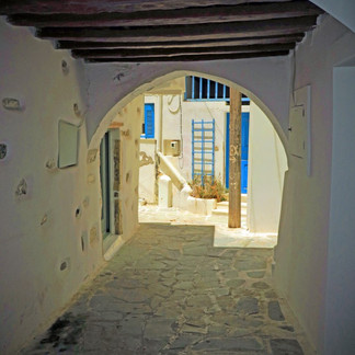 Pirate alley, Old Town Chora