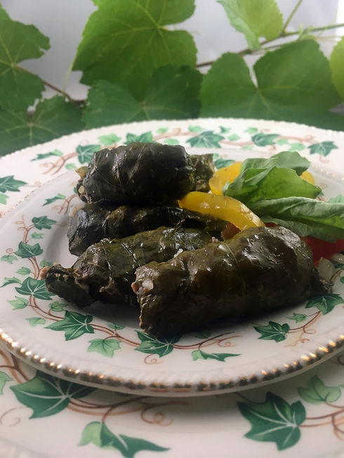 stuffed grape leaves TheGreekishLife.jpg