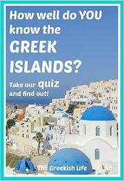 Greek Islands Quiz on The Greekish Life.