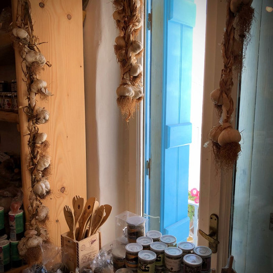 Spice shop window
