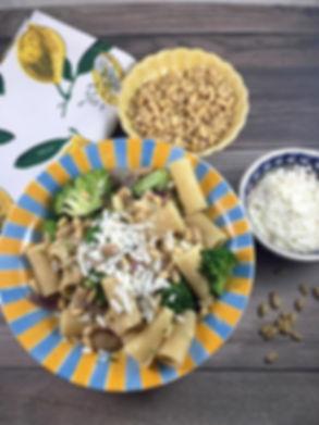Bean-and-Broccoli-Pasta-The-Greekish-Lif