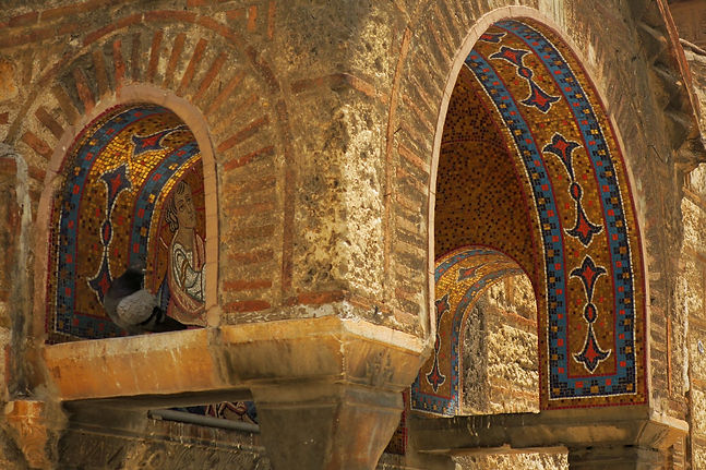 Panaghia_Kapnikarea-church-mosaics-Athen