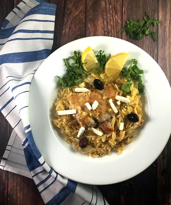One-Pot-Greek-Chicken-Orzo-The-Greekish-