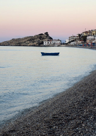 Kokkari, Samos at dusk