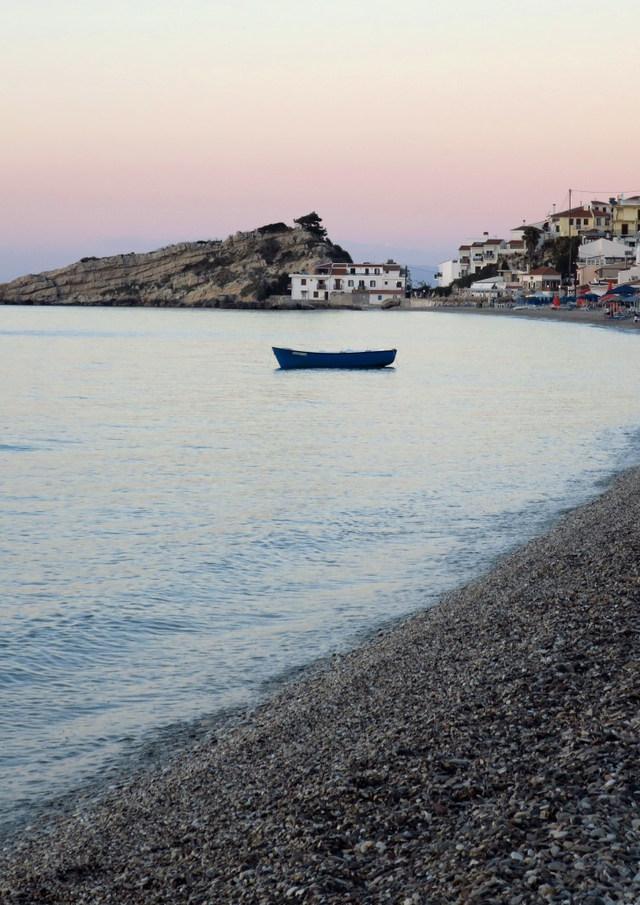 Kokkari, Samos at dusk