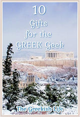 10 Gifts for the Greek Geek_The Greekish