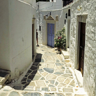 Alleyway, Filoti village