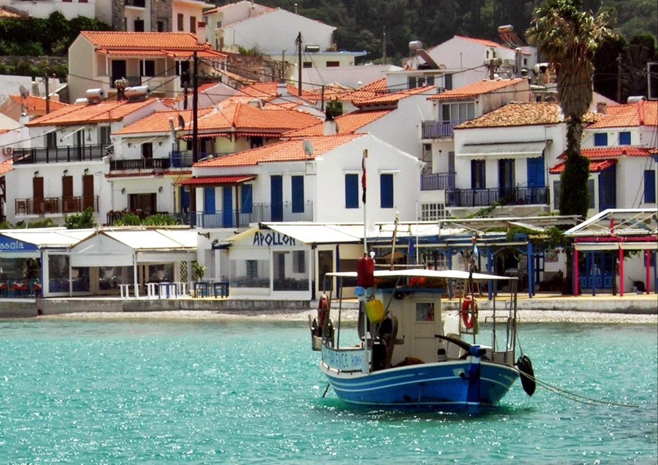 Boat in Kokkari, Samos