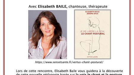 """Atelier Conférence:                                                              """"Le Chant Post"""