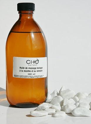Mint & Rosemary Massage Oil