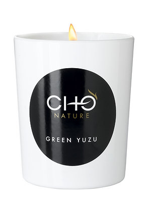 綠柚子香燻蠟燭